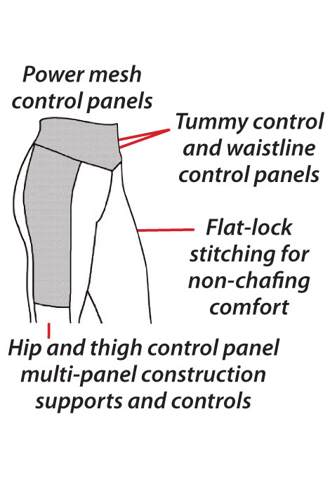 ActivShaper™ Slimming Bootleg Pants - View 2