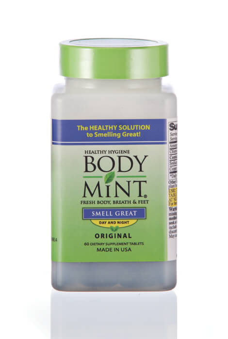 Body Mint® Body Odor Pill - 60 Tablets - View 1
