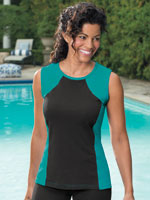 Swim - HydroChic™ Swim Sleeveless Top