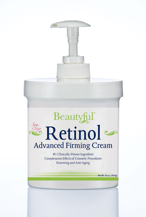 Retinol Advanced Firming Cream - 16 Oz.